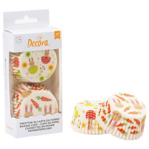 Πασχαλινά καραμελόχαρτα - cupcake